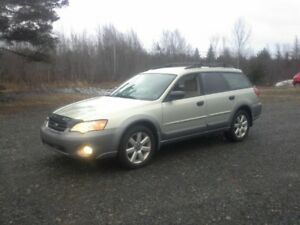 2006 Subaru Outback Wagon !! SNOW SLED !! 5 SPEED !!