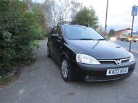 Vauxhall Corsa 1.2I 16V SXI (black) 2003