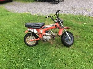 Honda ct  70  trade for z50 stuff or ?