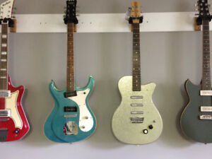 used Eastwood Sidejack & Danelectro 56U3 three pickup @ dockside