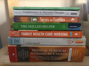 Various Nursing Text Books for Sale