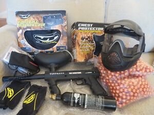 Paintball gun equipment and accessories
