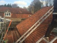All roofing works undertaken