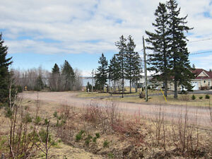 Building lot in Shediac Cape with gorgeous water views