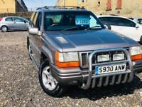 Jeep Grand Cherokee 4.0 auto Orvis Gas Converted 4X4 12 Months Mot