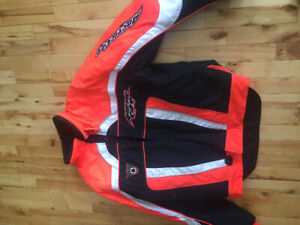 Arctic cat snowmobile suit pants and jacket will sell separate
