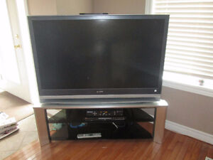 """50"""" SONY projection tv with stand"""