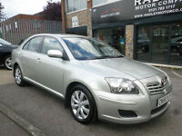 2006 Toyota Avensis 1.8 VVT-i Colour Collection 5DR 56 REG Petrol Silver