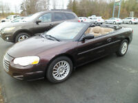 SOLD!!  2004 Chrysler Sebring Touring Convertible City of Halifax Halifax Preview
