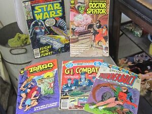 BUNCH OF OLD COMIC BOOKS $2.00 EACH STAR WARS DAFFY MARVEL +++