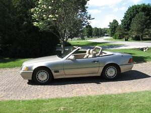 1992 MERCEDES 500SL CONVERTIBLE WITH HARDTOP
