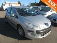 2010 Peugeot 308 Hatch 5Dr 1.6VTi 120 S Petrol silver Manual