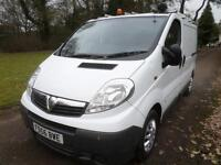 Vauxhall Vivaro 1.9 CDTI 6 SPEED SWB 2.9T 66K DIRECT BT 56 REG