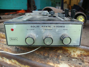 4-Track Tape Player