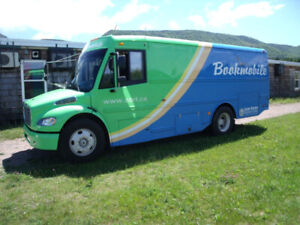 For Sale Former Bookmobile Bus