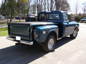 1971 GMC 1500 Custom short step side pickup for sale