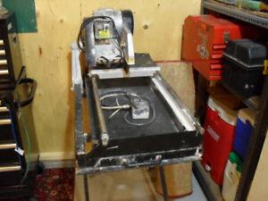 Original all working tile equipment