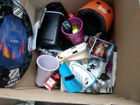 Carboot resale big joblot bundle, toys books cushions etc