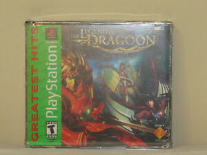 FOR SALE PLAYSTATION 1 GAME THE LEGEND OF DRAGOON BRAND NEW SEAL
