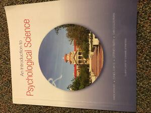 2 intro psychology textbooks
