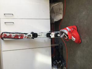 Ski Technopro 90 cm avec bottes