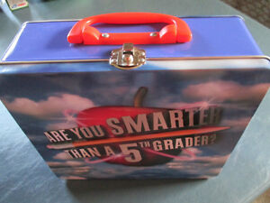 Are You Smarter Than a 5th Grader-New-Tin lunch box