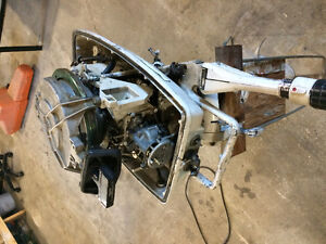 1970 johnson 15hp 2 stroke + parts motor