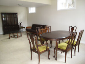 Gibbard Dining Table And 8 Chairs 1400 Buffet Hutch 800