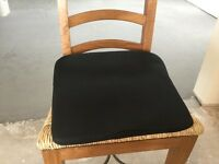 Wedge shaped cushion, back care cushion