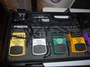 Behringer Various Bass Pedals - $20 each, Used Work Perfectly