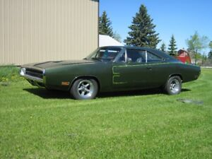1970 DODGE CHARGER 500 C/W FACTORY POWER WINDOWS
