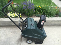 SEARS CRAFTSMAN SNOWBLOWER EXCELLENT CONDITION