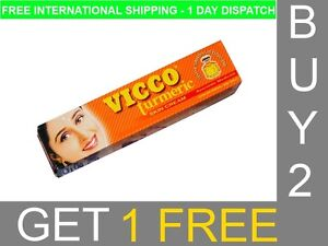 Vicco-Turmeric-Skin-Cream-Fairness-Blemishes-Scars-Acne-Pimples-Burns