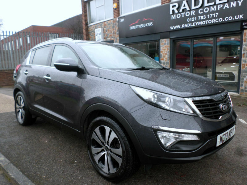 2013 kia sportage 1 7crdi 2wd 3 5dr 13 reg diesel blue in sheldon west midlands gumtree. Black Bedroom Furniture Sets. Home Design Ideas