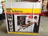 Stanley fold up workshop