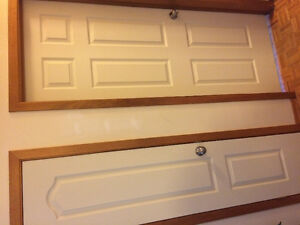 New colonial style doors, finished
