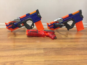 Nerf Gun and Nerf Crossbows
