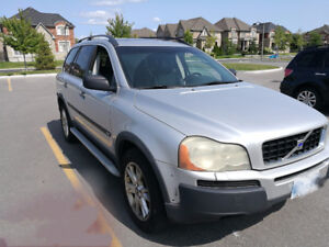 2004 Volvo XC90 SUV, Crossover  - up to 7 full size seats!