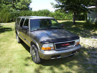 2002 GMC Sonoma SLS Pickup Truck  at REDUCED PRICE