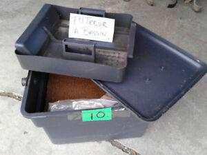 Filtreur pour bassin extérieur avec gravier et éponge $10