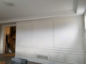 Crown moulding /wainscoting/ complete interior finish