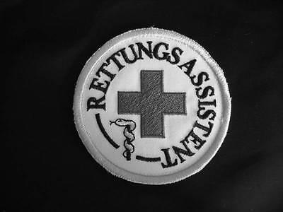 Rettungsassistent Rundemblem Emblem Patch Aufnäher NEU 2. Wahl