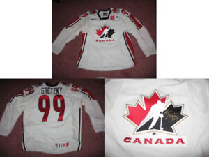 Hockey Memorabilia Items (As Low As $175), including Gretzky!