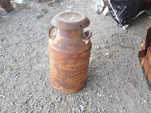 Antique Acme Farmers Dairy Milk Can