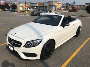 **Fully Loaded** 2018 Mercedes C300 4MATIC CONVERTIBLE