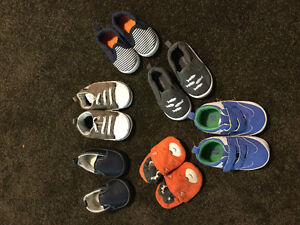 6 pairs Baby shoes 3-6month