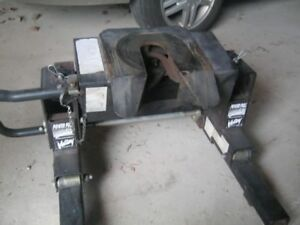 Truck Fifth Wheel Plate and Rails