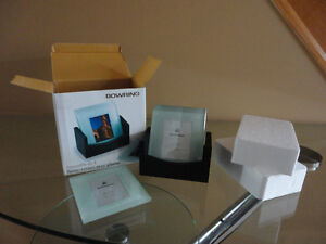 Brand new in box Bowring set of 4 glass photo coasters London Ontario image 6