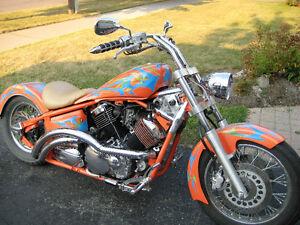 CUSTOM CHOPPER  1100cc Yamaha