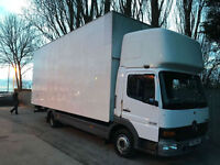 2003 Mercedes-Benz Atego 815 BOX LORRY 7.5 TONN SLEEP CAB BIG BOX P/X